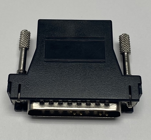 Serial DB25M/RJ45 - Modular Adaptor - Black